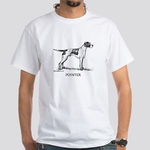Pointer White T-Shirt